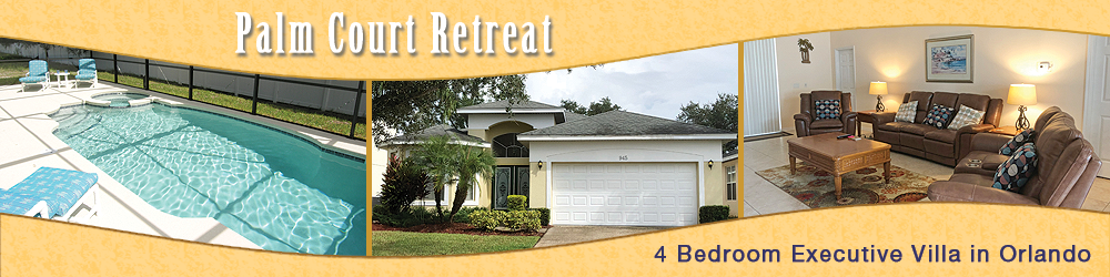 Palm Court Retreat, 4 bed / 3 bath executive vacation villa, Crystal Cove, Kissimmee, Florida